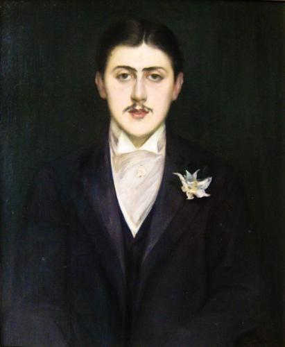 Jacques-Emile Blanche, Portrait of Marcel Proust, 1892